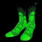 NVRLND Moomin Hatti Glow Crew Socks