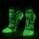 NVRLND Moomin Hatti Glow Kids Socks