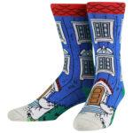 NVRLND Moomin House Crew Socks