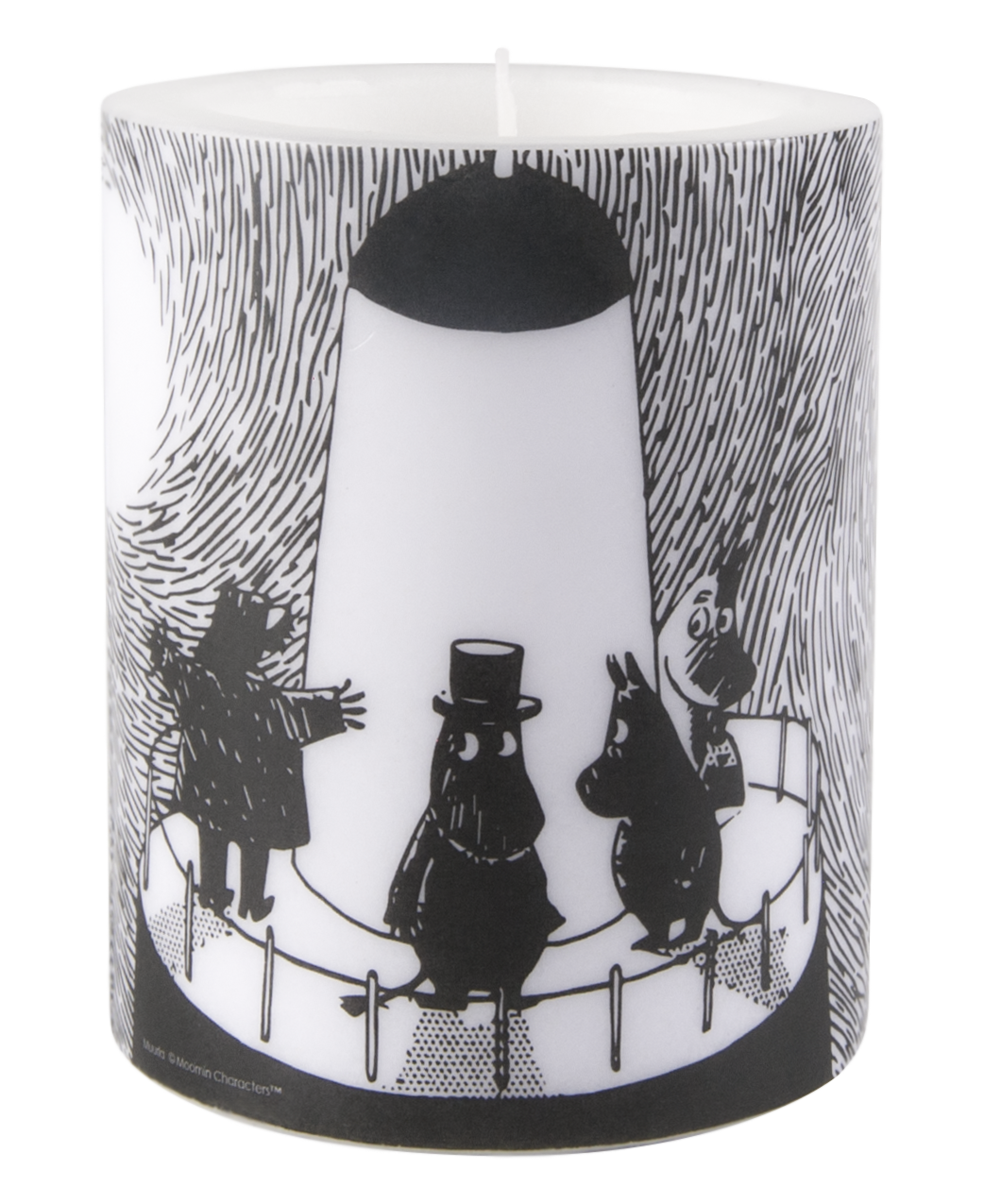 Muurla Moomin Lighthouse candle 12cm