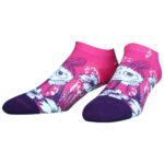 NVRLND Moomin Little My Flowers Low-Cut Socks