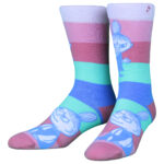 NVRLND Moomin Little My Stripe Crew Socks