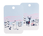 Moomin by Muurla - Magic Winter Chop & serve board 21 x 31 cm