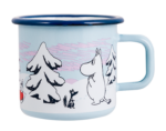 Muurla Moomin Magic Winter enamel mug 3,7dl