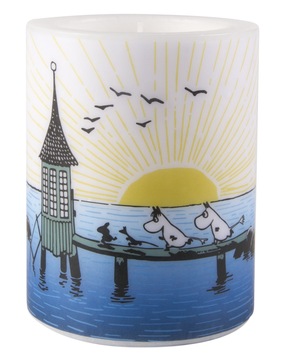 Muurla Moomin Mellow wind candle 12cm