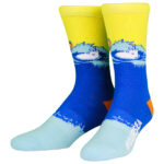 NVRLND Moomin Our Sea Crew Socks