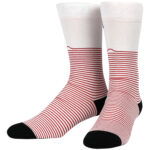 NVRLND Moomin Paint Stripe Crew Socks