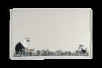 Moomin Pets by Muurla - Silicone mat 60 x 40 cm grey