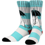 NVRLND Moomin Rain Crew Socks