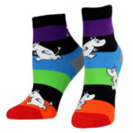 NVRLND Moomin Rainbow Stripes Kids Socks