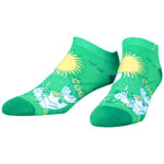 NVRLND Moomin Snufkin Low-Cut Socks