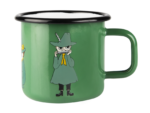 Muurla Moomin Retro Snufkin enamel mug 3,7 dl