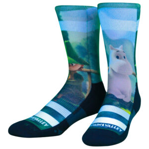 NVRLND Moomin Fishing Crew Socks