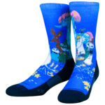 NVRLND Moomin Group Crew Socks