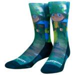 NVRLND Moomin Snufkin Hike Crew Socks