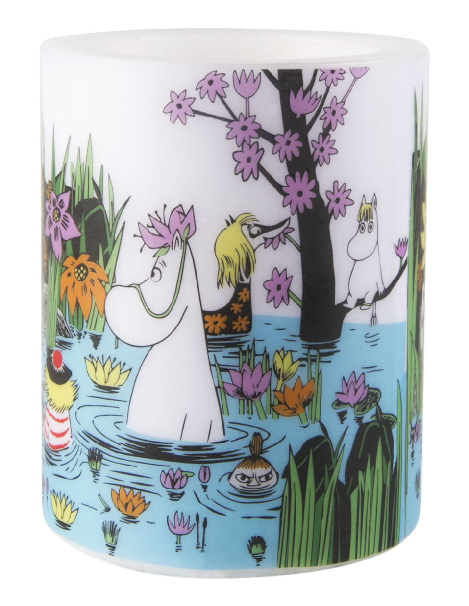 Muurla Moomin Trip to the pond candle 12cm