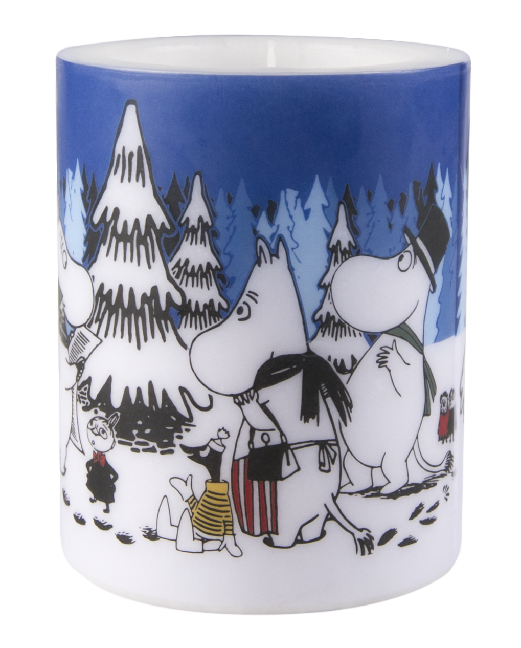 Muurla Moomin Winter Forest 12cm