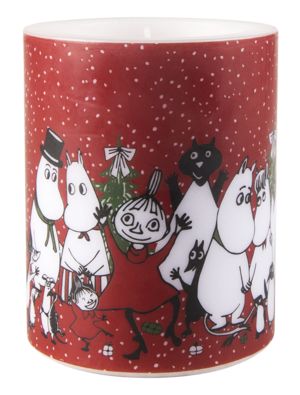 Muurla Moomin Winter Magic candle 12cm