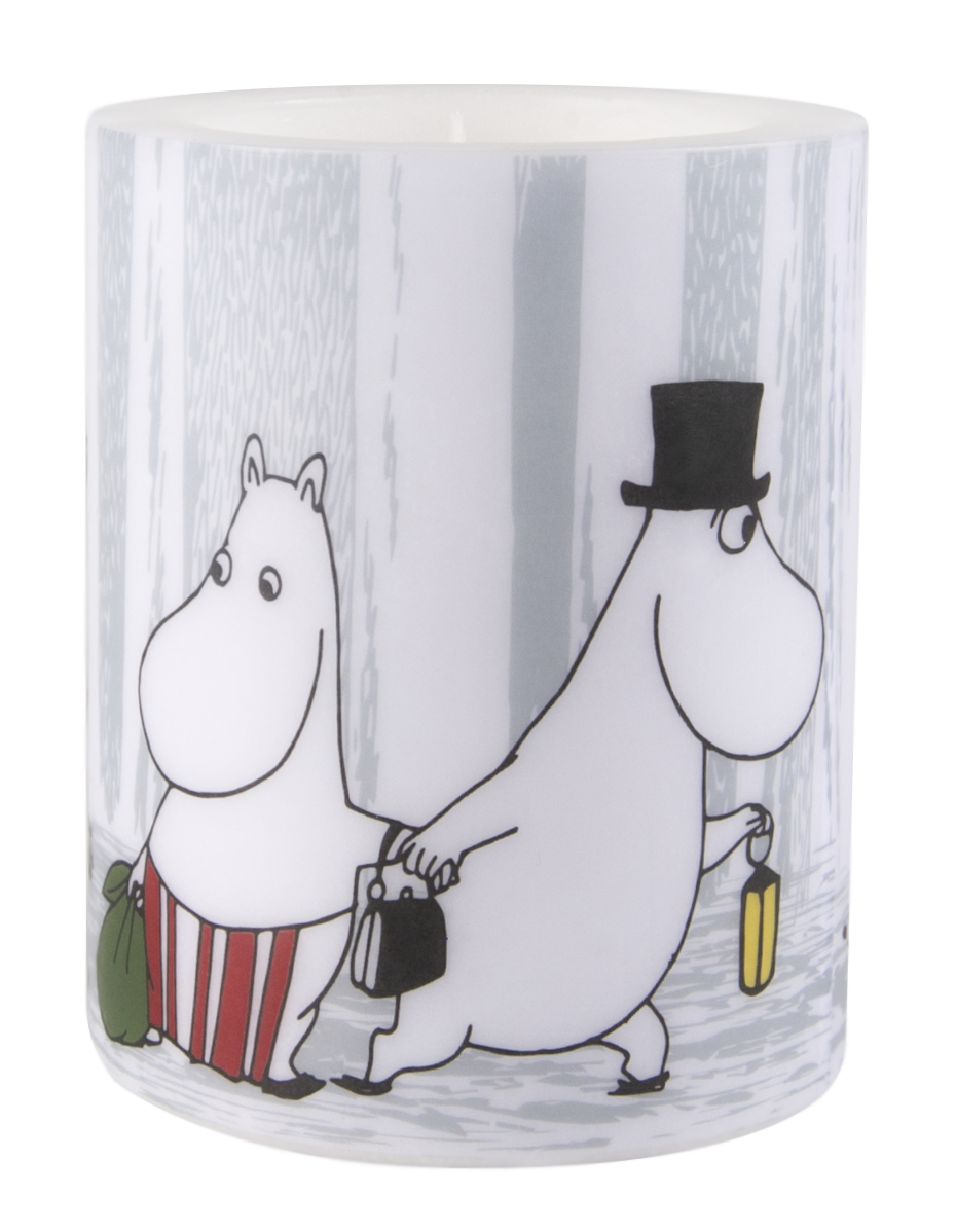 Muurla Moomin Winter Trip candle 12cm