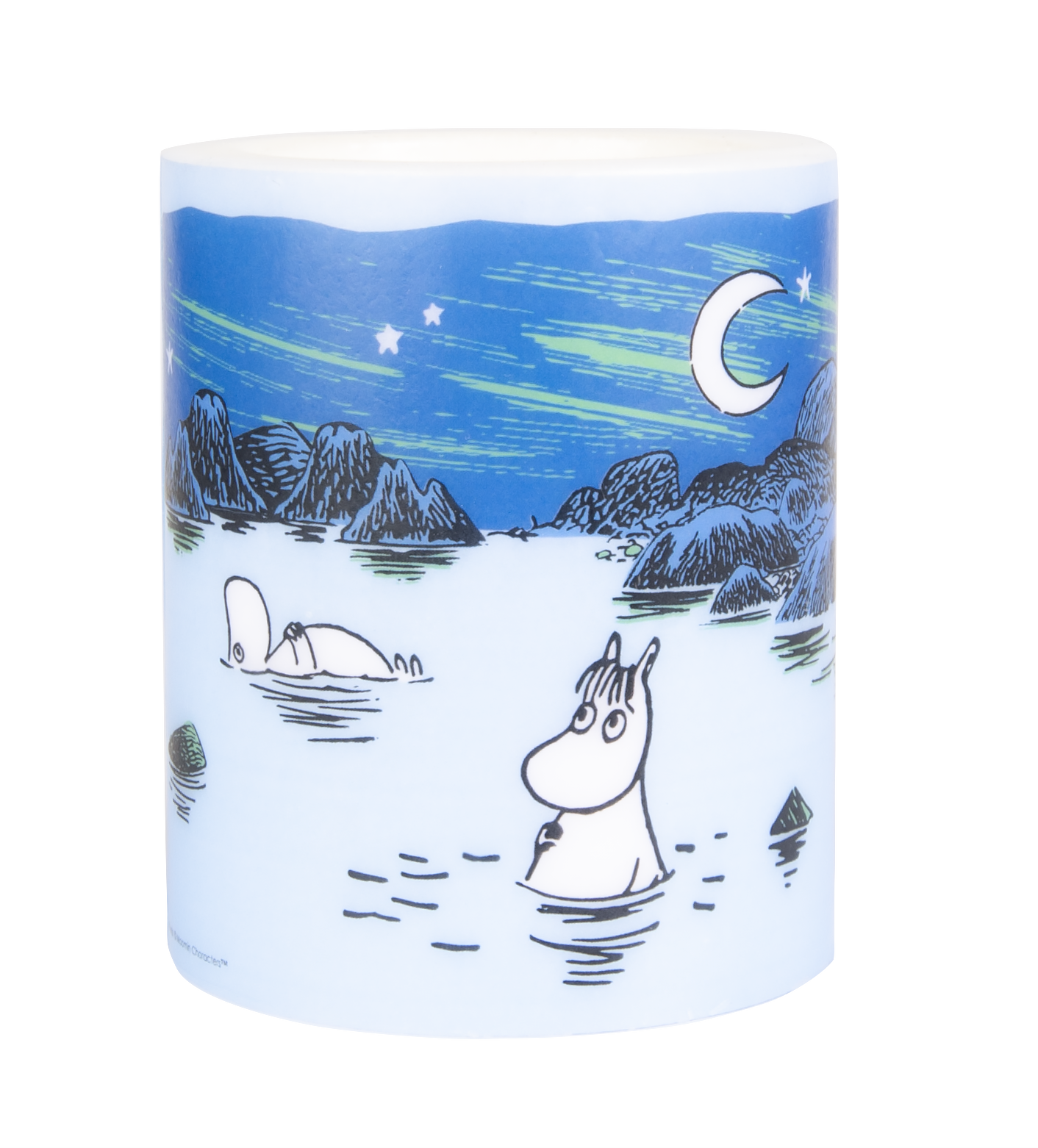 Muurla Moomin Lagoon candle 12 cm