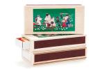 Isoisan Puulelut Matchbox, birthday, coloured