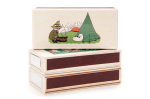 Isoisan Puulelut Matchbox, camping, coloured
