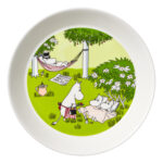 by Arabia Moomin plate 19cm Relaxing