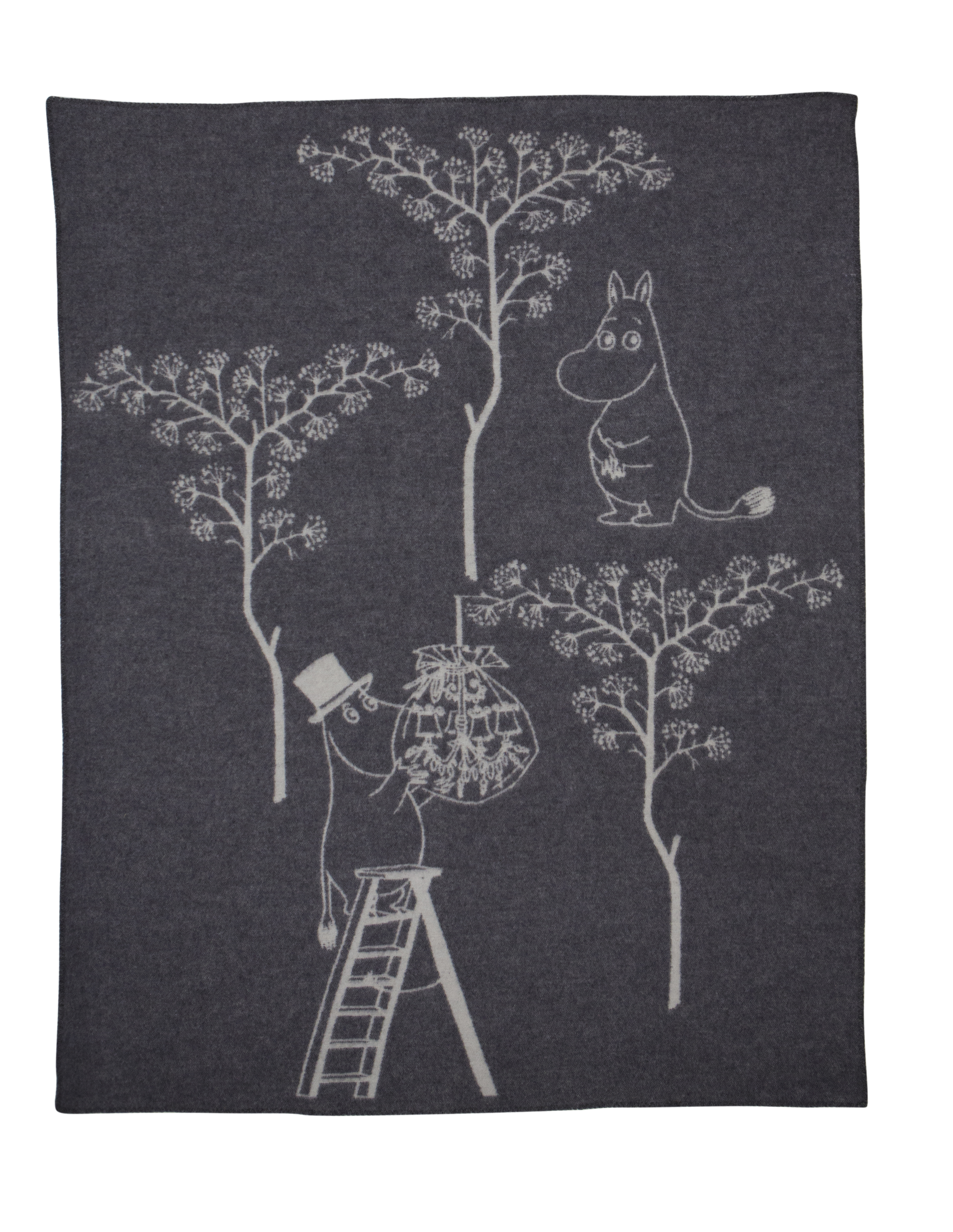 Turiform Moomin blanket