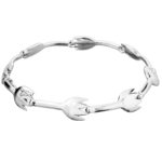 Saurum Moomin Garden silverbracelet