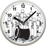 Saurum Wall Clock - Hattifatteners