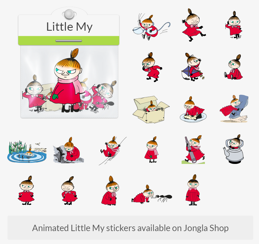 Image: Jongla Little My Stickers