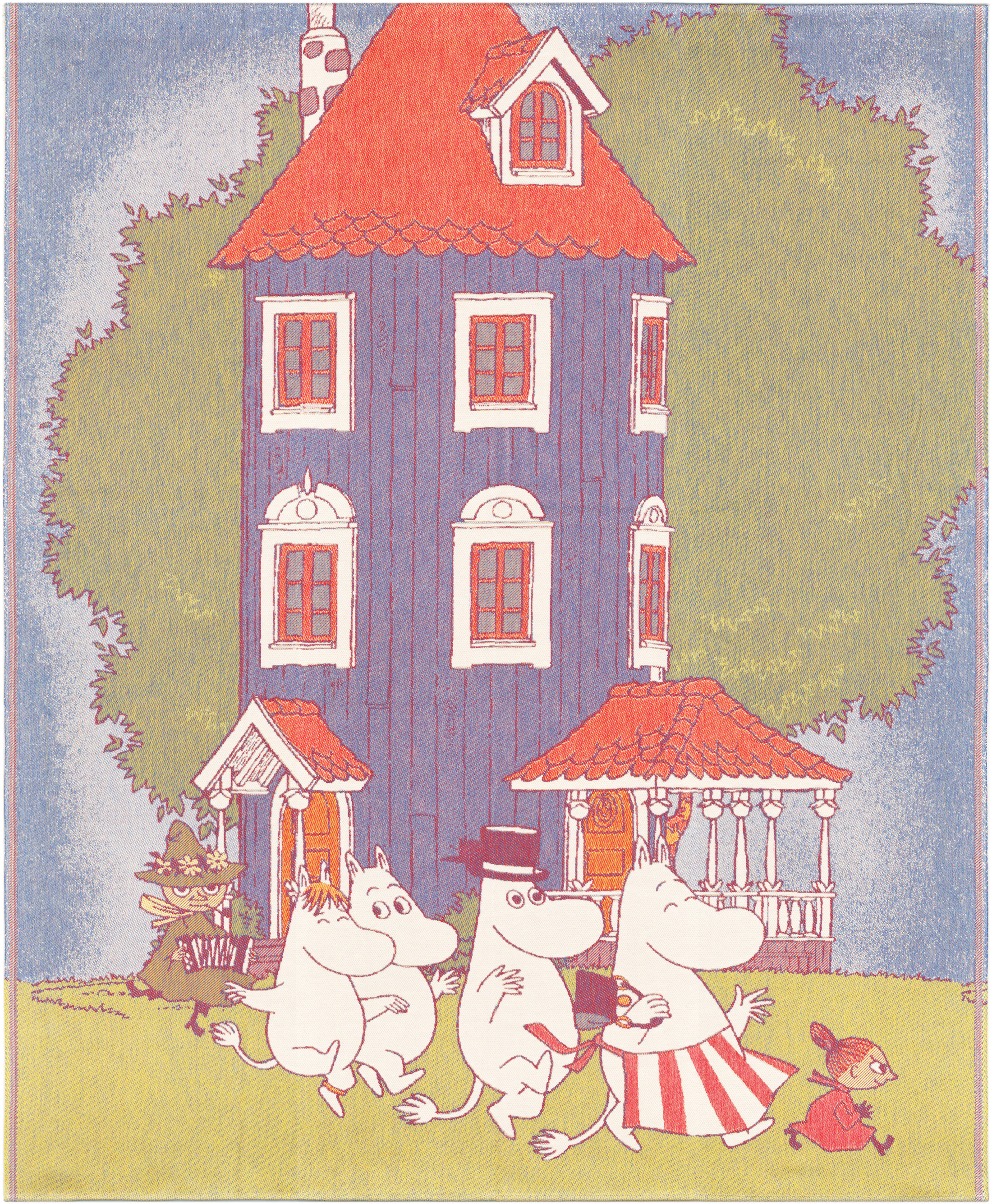 Ekelund | Moominhouse throw