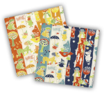 Karto Napkins Moomin Orange and Blue