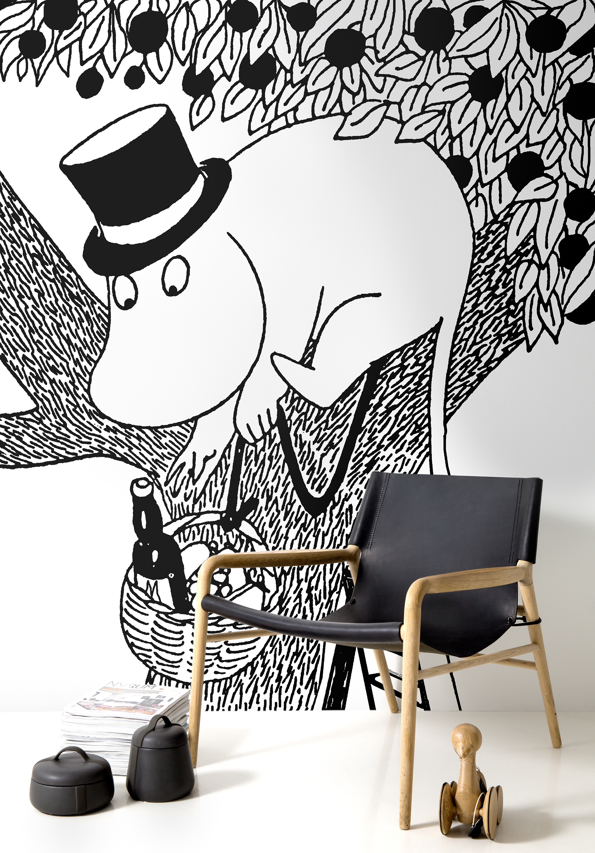 Photowall - Moominpappa the Epicurean