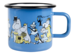 Muurla Moomin Shop 20 years jubilee enamel mug 3,7 dl