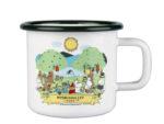 Muurla Moominvalley Park enamel mug 3,7 dl