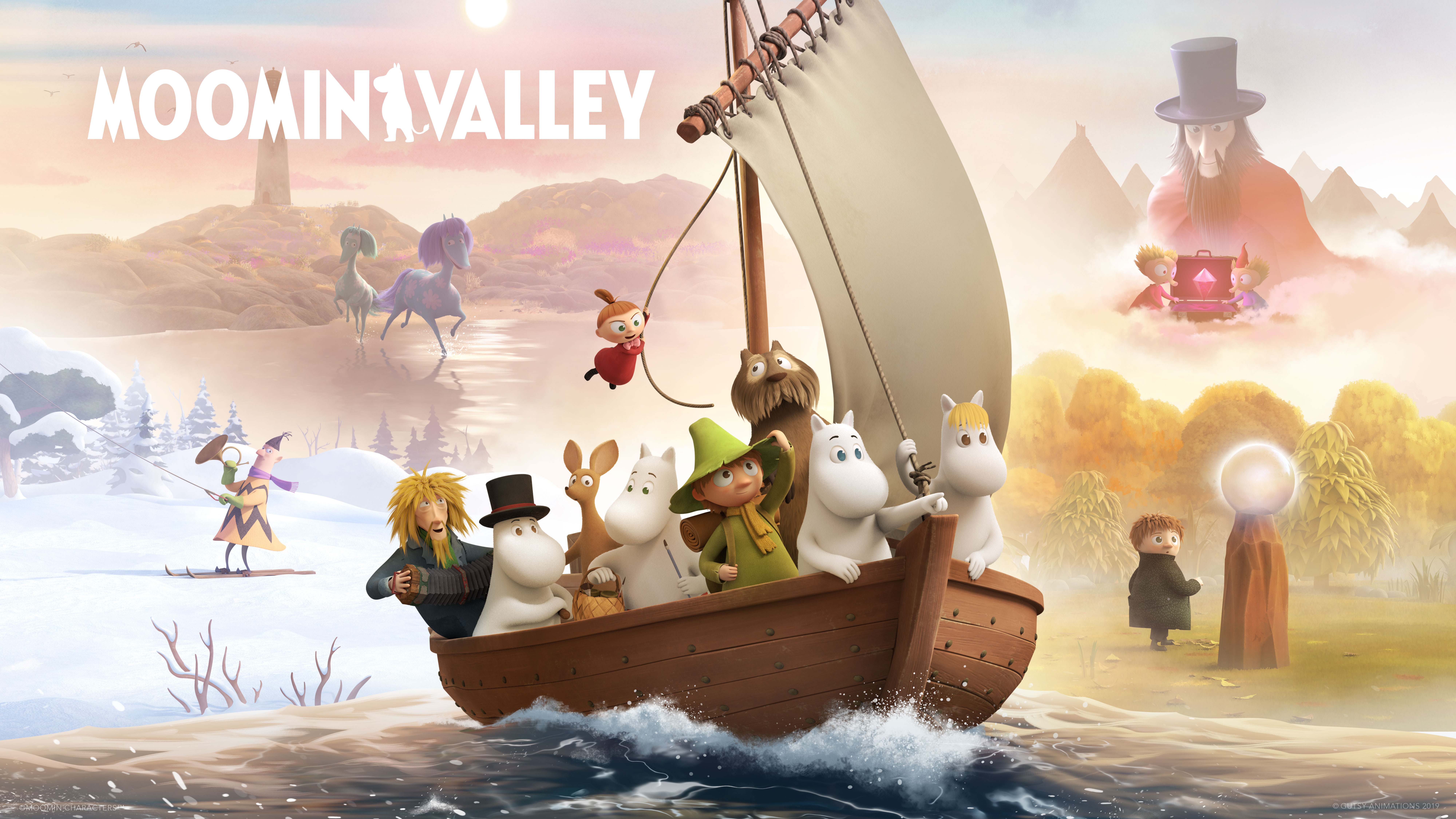 Moominvalley TV series (2019)