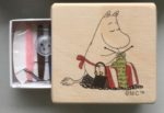 Isoisan Puulelut Moomin sewing kit 'Mamma knitting'