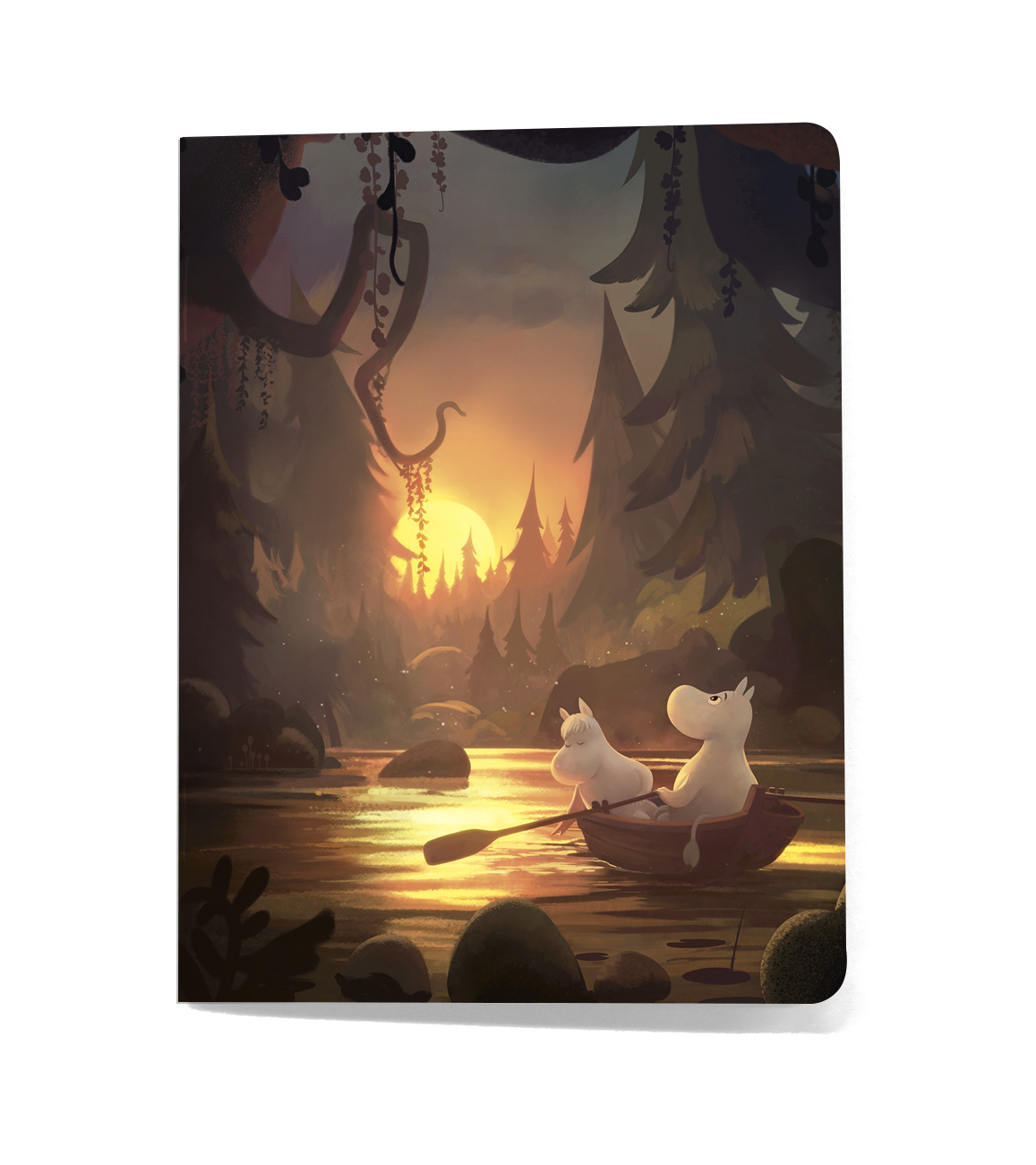 Putinki Softcover Notebook A5 Gutsy Rowing