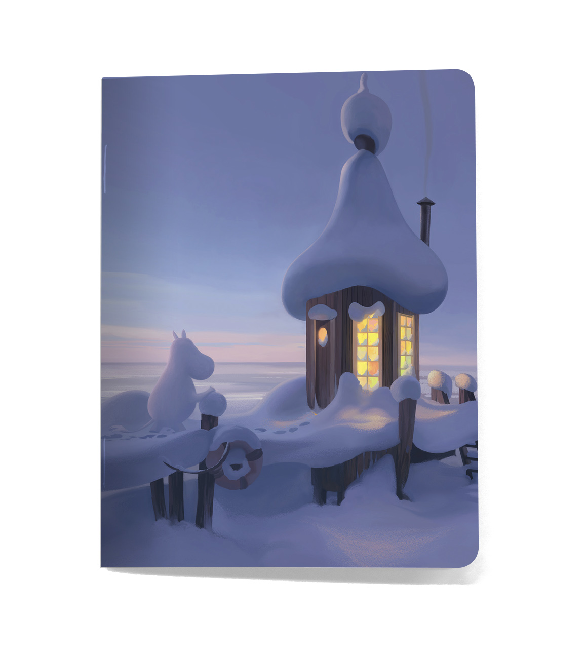 Putinki Softcover Notebook A5 Gutsy Winter Horizon