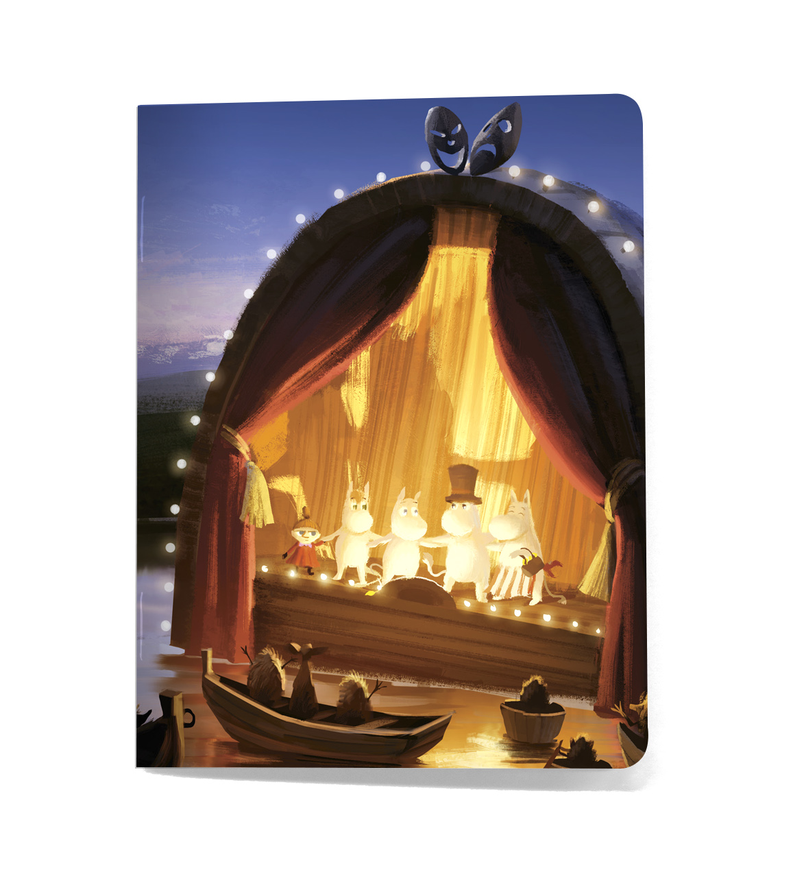 Putinki Softcover Notebook A5 Gutsy Theatre
