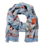 Lasessor Juhannus scarf l.blue