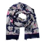 Lasessor Juhannus scarf d.blue