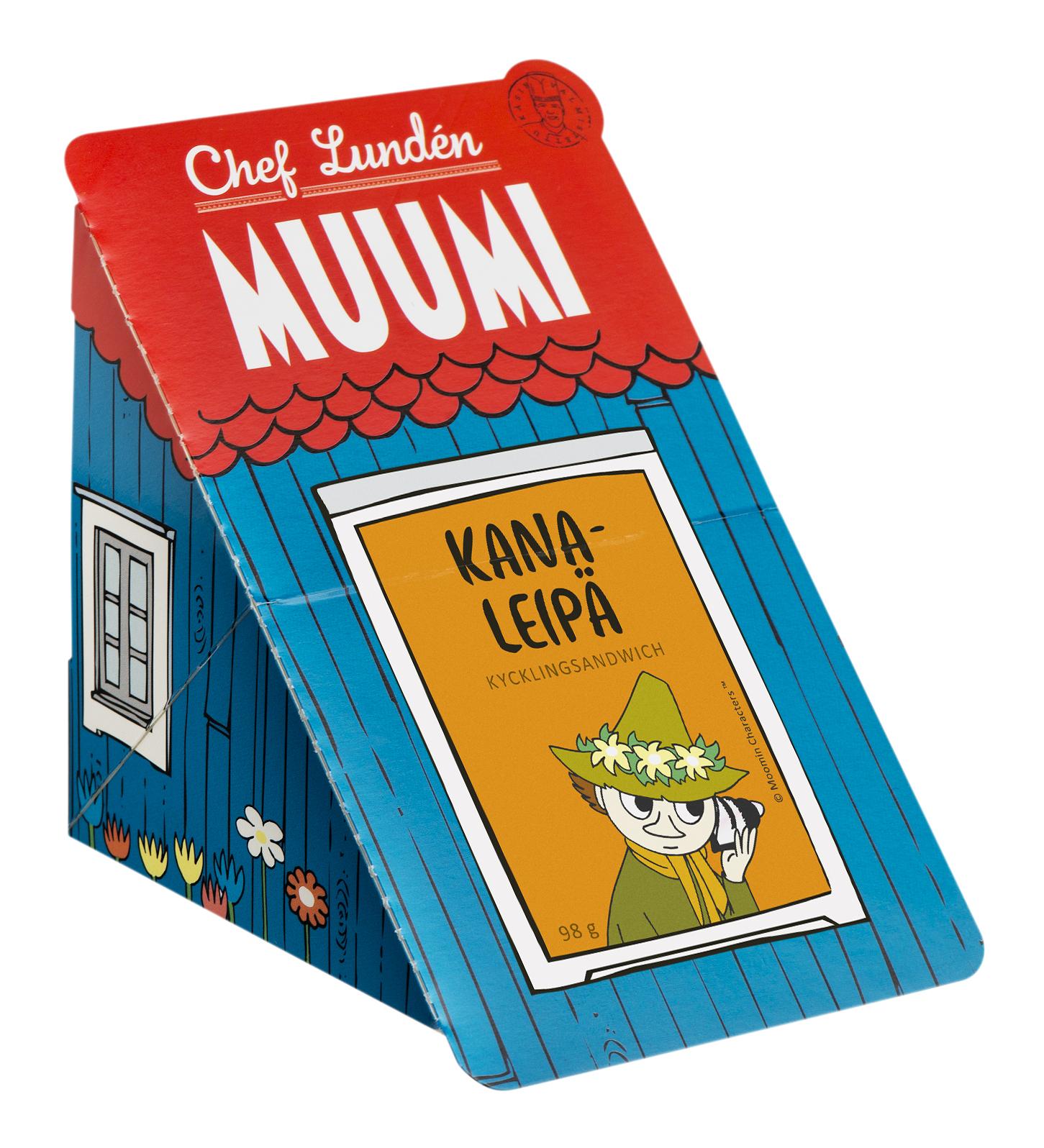 Chef Lundén Muumi Chicken Sandwich 98 g