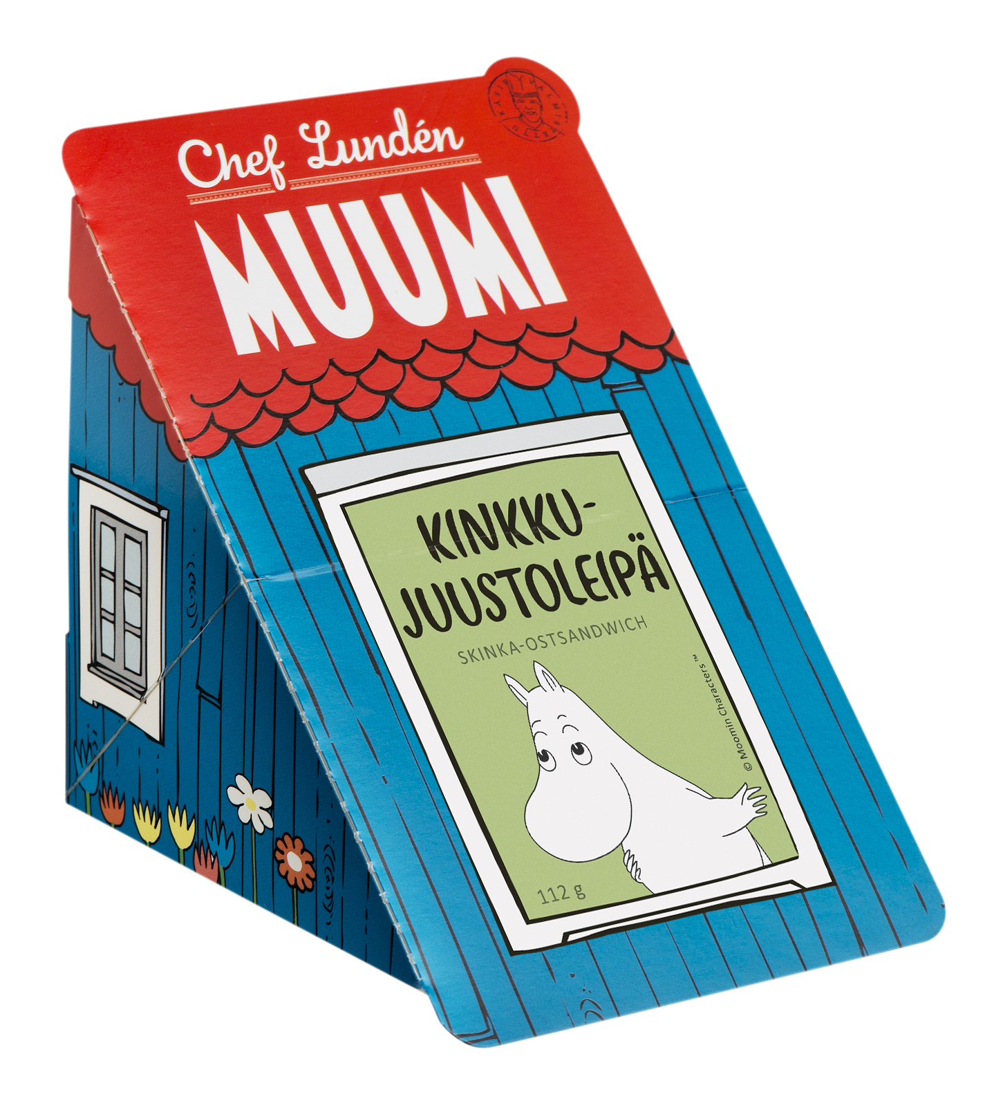 Chef Lundén Muumi Ham and Cheese Sandwich 74 g