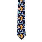 Lasessor Hattara men's necktie d.blue