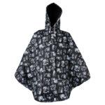 Lasessor rain poncho Lomalla black