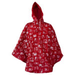 Lasessor rain poncho Lomalla red