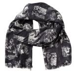 Lasessor Lomalla viscose scarf d.grey