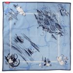 Lasessor Meriseikkailu cotton bandana light blue